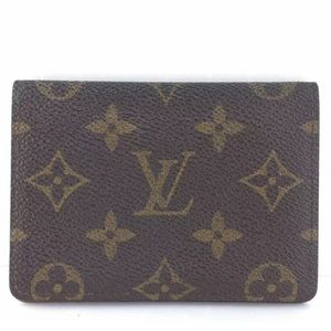 😍AUTHENTIC LV Porte 2 Cartes Card Wallet Monogram
